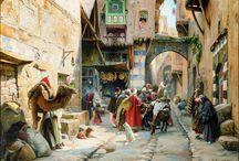 streets scenes of cities