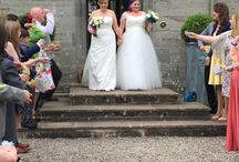 Real Wedding Freya & Jemima / A fabulously fun, intimate wedding, full of laughter and love! Congratulations to such a lovely couple!