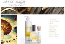 "Lemon Sugar - "" Trendy Vixen"" By Tulip Perfume / Lemon Sugar - You trendy Vixen!"