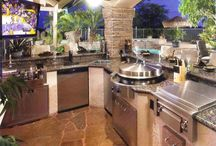 Inspiration - Outdoor Kitchens / by GrayRockSupply