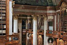 libraries / by Kate Elizabeth Jean