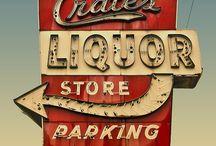 Liquor Store Decor / by Bridget Griffin