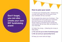 DIY Fundraising / Want to hold your own fundraising event but need some inspiration? Look no further!
