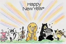 """2017_Mandy's 365 Happy Cards / One card a day in 2017 ! Card size : 4"""" x 6"""""""