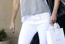 [ white jeans ] / by Everything Chic