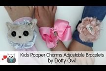 Popper Charms by Dotty Owl - YouTube Videos