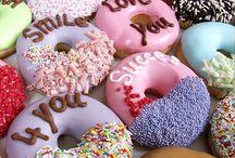donuts / haar en eten