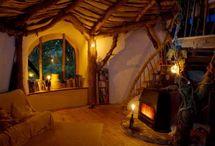 toadstool  house interiors
