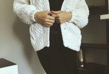 Handmade knitting