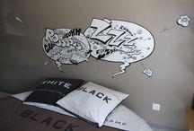 Toiles Bulles / Déco humoristique pour chambre à coucher...