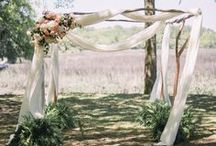 Arch//Arbor//Chuppah Ceremony Ideas