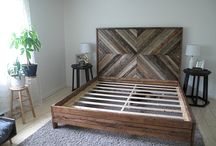 Woodwork bed