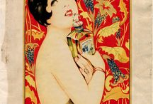 Perfumes Advertisements / Old, Vintage, Retro