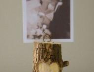 wood DIY wedding ideas