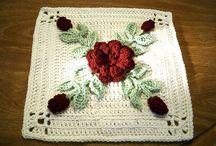 crochet squares / by Brenda Jones