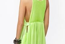 Fashion ✄ Dress (Lime)