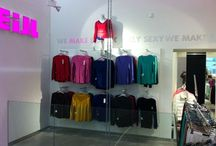 Tally Weijl - negozi / Negozi, showroom e outlet realizzati da Real contract - Shops, showroom and outlet realized by Real contract www.realsrl.it