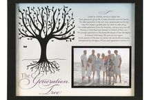 Generation Gifts for Family / Family gift ideas to celebrate the different generations!
