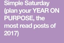 Simple Saturdays / the latest / The latest editions of the Simple Saturdays email. A bi-weekly email from Simple on Purpose full of insights, updates, tips and encouragement to help you simplify and live your life on purpose #lifeonpurpose