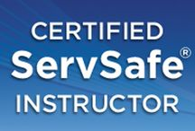 ServSafe® Courses / We provide the classroom and online food safety courses required to obtain your Food Manager Certificate.
