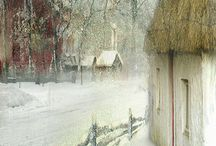 Winter paintings