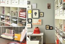 Ikea Shelving / Look at all the amazing things you can do with these inexpensive shelves!