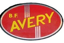 Tracteur B.F. AVERY