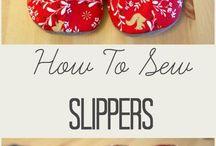 backory pantofle slippers