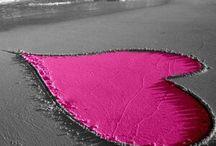 sahilde kalpler