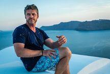 Steven Cox Instagram Photos Where's my scotch? #santorini #travel #blue #greece #travelgram #katikieshotel