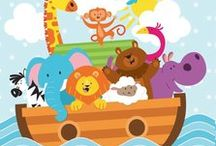 Noah's Ark Baby Shower Decorations / Noah's Ark Baby Shower Ideas for the cutest  Noah's Ark theme baby shower. We have added some of our own favorite Noah's Ark party supplies, and added some other ideas from Pinterest members on how to throw the cutest Noah's Ark Theme Baby Shower ever! http://www.ezpartyzone.com/cat_noahs_ark.cfm