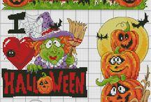 borduren halloween