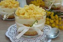 mimosa al cucchiaio