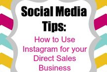 Social Media | Instagram / All sorts of info on utilizing Instagram to its fullest potential for direct sales and other small businesses
