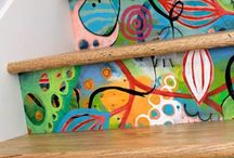 Escalones pintados - Painted steps