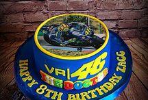 Valentino Rossi Cakes