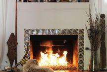 Fireplace & Mantel / by Gani B.