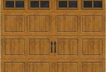 Aker Doors - Brown Carriage House Doors