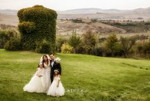 Tuscany Vintage Weddings / Rustic elegance and country chic wedding in Tuscany Italy