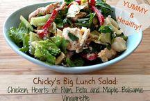 Salads, Veggies, & Dressings