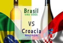 El mundial sabe a vino / Te decimos los vinos principales de cada región para estos partidos. ¿Por cual vas?