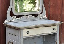 Annie Sloan chalk paint ideas/tips / by M Padgett