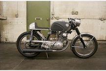 Honda CB72 Conversion / by Benjamin Hickey