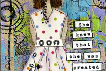 Intro: Self portrait collage / by Sarah Alvarez