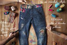 jeans gedekor