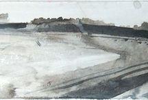 vista torrejon de ardoz / carreteras, arte, ink