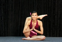 Bikram. Single leg behind the head