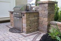 Built-In Grills / Add a built-in grill to your outdoor living space to ensure that you will be grillin' all year!