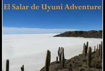 El Salar de Uyuni Bolivia Adventure / You have to see El Salar de Uyuni to believe it. Travel on a high altitude adventure that takes you to the ends of the earth to experience an otherworldly landscape and a fascinating way of life.