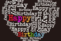 Birthday / Happy Birthday to You Happy Birthday to You Happy Birthday Dear (name) Happy Birthday to You.  From good friends and true, From old friends and new, May good luck go with you, And happiness too.